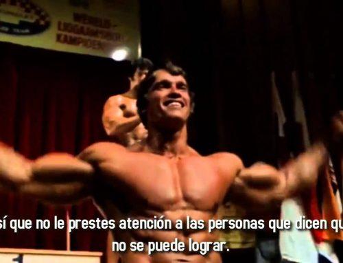 Arnold Schwarzenegger Quién quieres ser – MOTIVACIÓN GYM